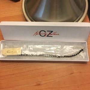Kenneth Jay Lane CZ bracelet