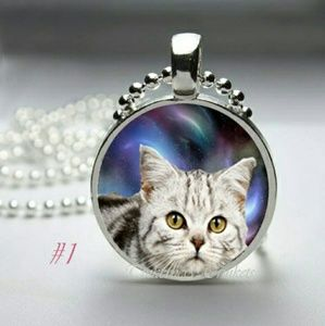 Space Kitty Necklace