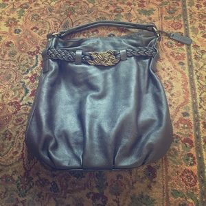 aqua madonna Handbags - Aqua Madonna Large Genuine Leather Purse