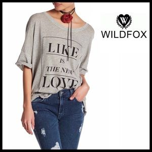 Wildfox Tops - WILDFOX Tunic Tee