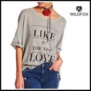 Wildfox Tops - ❗️1-HOUR SALE❗️WILDFOX Tunic Tee