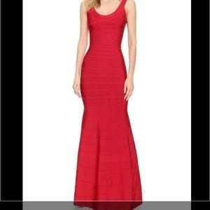 Herve Leger Dresses & Skirts - Red Herve Leger Gown