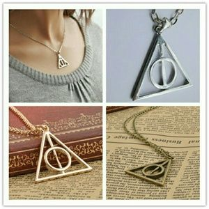 Jewelry - Movie Harry Potter-Deathly Hallows Metal Necklace