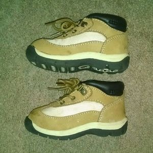 Genuine kids leather boots infant shoes
