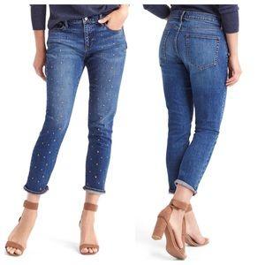 GAP Denim - gap studded girlfriend jeans