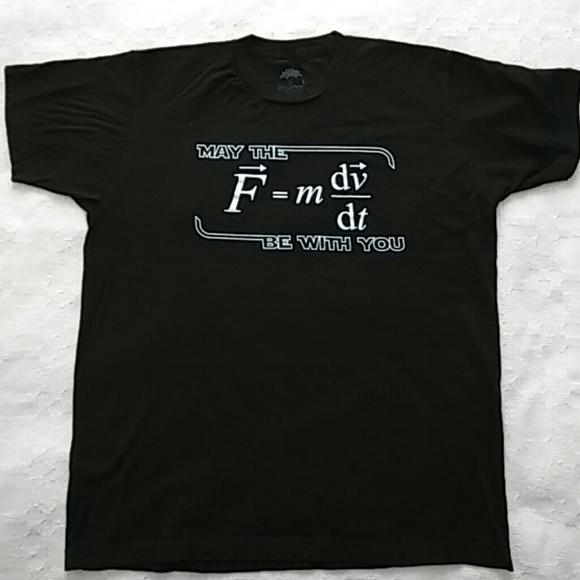 e3a365f81 Ann Arbor T-shirt Company Shirts | Nwot Star War Physics Tshirt ...