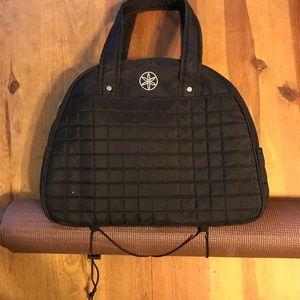 87 Off Gaiam Handbags Gaiam Brown Quilted Metro Yoga