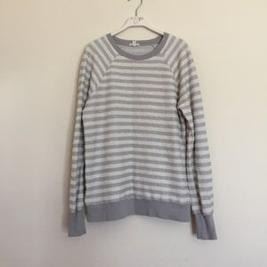 Joie Tops - Joie Soft grey white terry pullover sweater XS