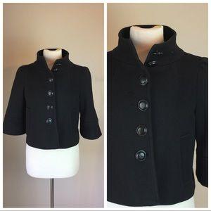 Nanette Lepore Black 3/4 Sleeve Jacket
