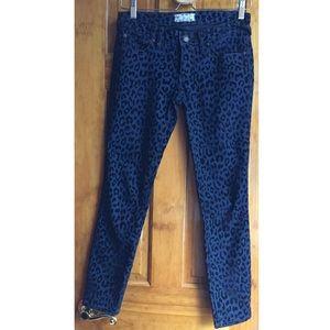 Free People Denim - 30%OFF BUNDLE Free People Blue Leopard Skinny Jean