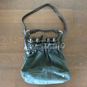 Holding Horses Anthropologie leather & suede purse