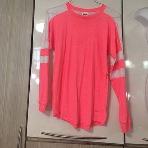 VS pink long sleeve t shirt