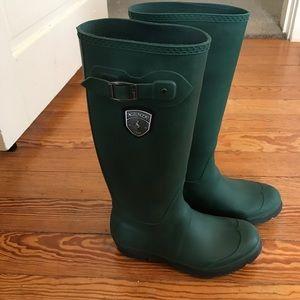 Kamik Shoes - Hunter Green Kamik Rain Boots
