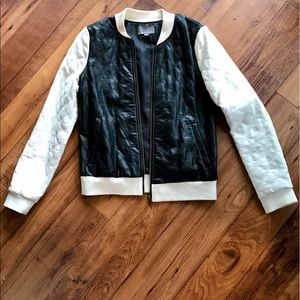 Tinley Road Jackets & Blazers - Tinley Road Faux Leather Jacket