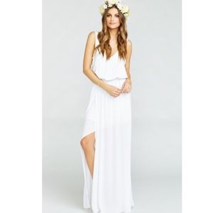 Show Me Your MuMu Dresses & Skirts - NWOT show me your mumu ivory crisp Kendall