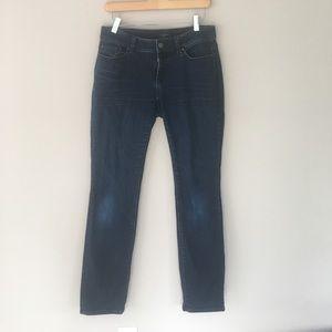 Pants - Ann Taylor Petite Slim Curvy Cut Jeans/Denim