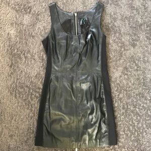 Guess by Marciano Dresses & Skirts - Marciano genuine leather mini dress!