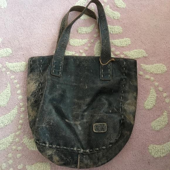 f2dd1b600cac Bed Stu Handbags - Bed Stu Distressed Stevie Tote