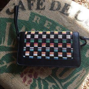 Target Handbags - Large zip up clutch.