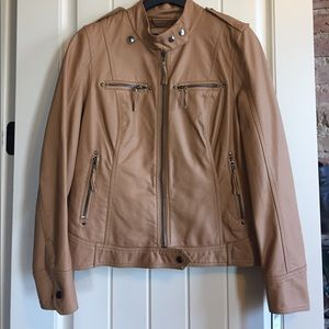 Black Rivet Jackets & Blazers - 🎉PRICE DROP🎉 NWT Tan Leather Jacket