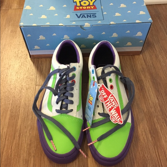 Vans Light Year Buzz Toy ShoesDisney Story Poshmark 6gf7yb