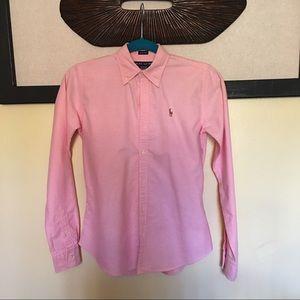 🎀 Ralph Lauren Pink Polo Shirt