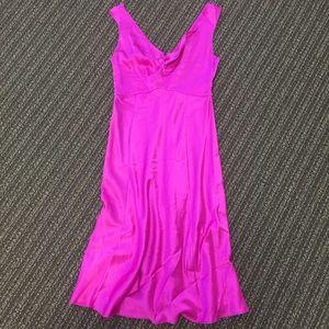 Miguelina Hot Pink Dress