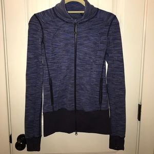 lululemon athletica Jackets & Blazers - Lululemon Women's Striped Running Jacket