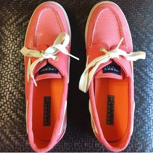 Sperry Top-Sider Shoes - Bahama Coral Sequin Sperry's! 💕