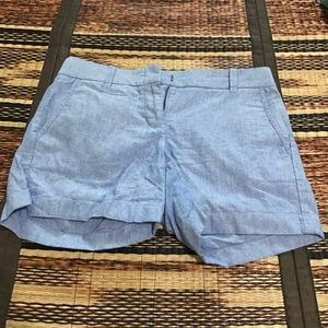 J. Crew City Fit shorts *blue!*