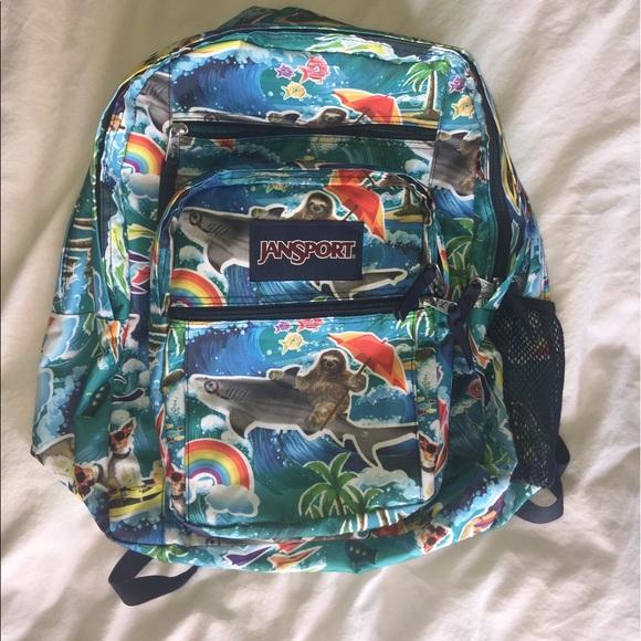 67df07ea4517 Jansport Handbags - Jansport Wet Sloth large student backpack