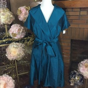 Jessica Howard Dresses & Skirts - Jessica Howard teal dress sz 24