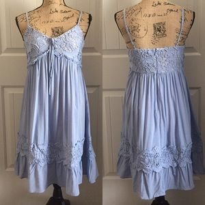 UMGEE Dresses & Skirts - ⬇️ PRICE DROP ✨ Lace Trim Babydoll Dress