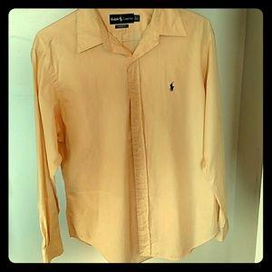 Ralph Lauren Other - Men's Ralph Lauren light yellow button down shirt