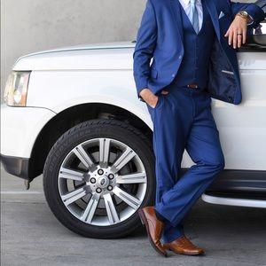 Hugo Boss Other - Men's Caravelli Slim Cobalt Blue Suit