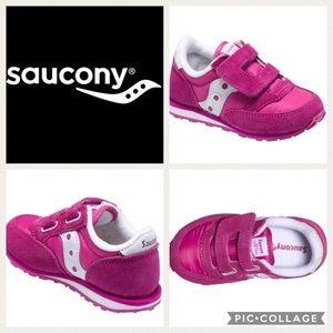Saucony Other - 💕KIDS!! Saucony Jazz Sneaker { paradise pink} 12