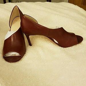 Cole Haan Shoes - Cole Haan Viveca Open Toe Pump!