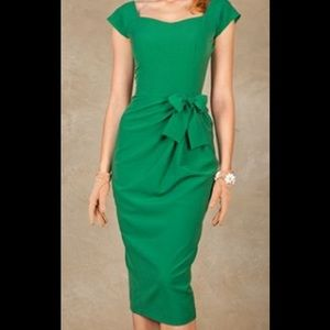 Stop Staring Dresses & Skirts - New Stop Staring ModCloth green Celia dress