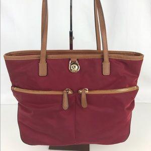 Michael Kors Handbags - Michael Kors Kempton Navy Nylon Pocket Tote