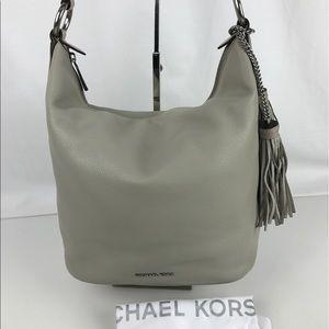Michael Kors Handbags - Michael Kors Elana Large Leather Shoulder Bag