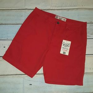 Globe Other - Globe Goodstock Chino Walkshort Red
