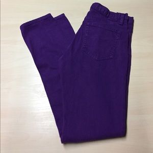 Ralph Lauren Denim - Ralph Lauren Vibrant Purple Denim Jeans size 28