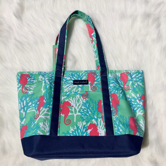 584918b89221 Large Simply Southern Beach Bag Tote