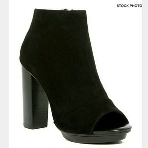 Joie Shoes - 🆕 JOIE Bria Suede Peep Toe Bootie
