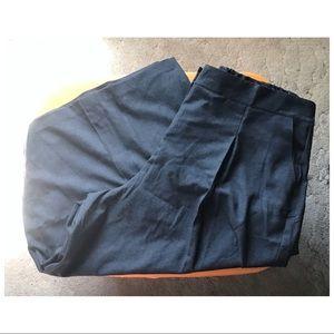 Eloquii Pants - Wool Blend Pleated Cutottes 🎛