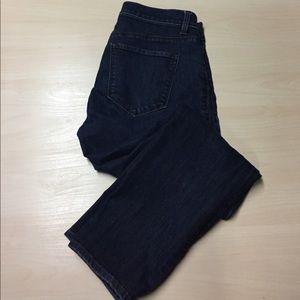 LOFT Denim - Loft Modern Fit Dark Denim Crop Jeans Size 4