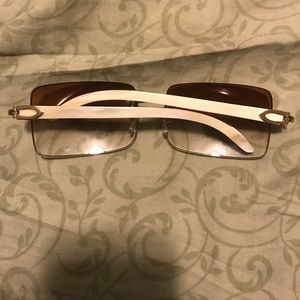 Cartier Other - Cartier buffalo horn glasses for men