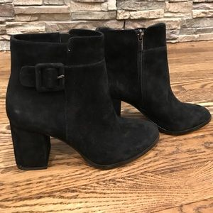 Suede boots NWT size 6