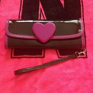 Betsey Johnson Handbags - Gorgeous Betsey Johnson Wristlet NWOT