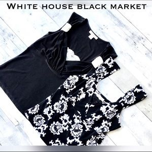 White House Black Market Tops - Bundle-2 WHBM lace cami layering tops